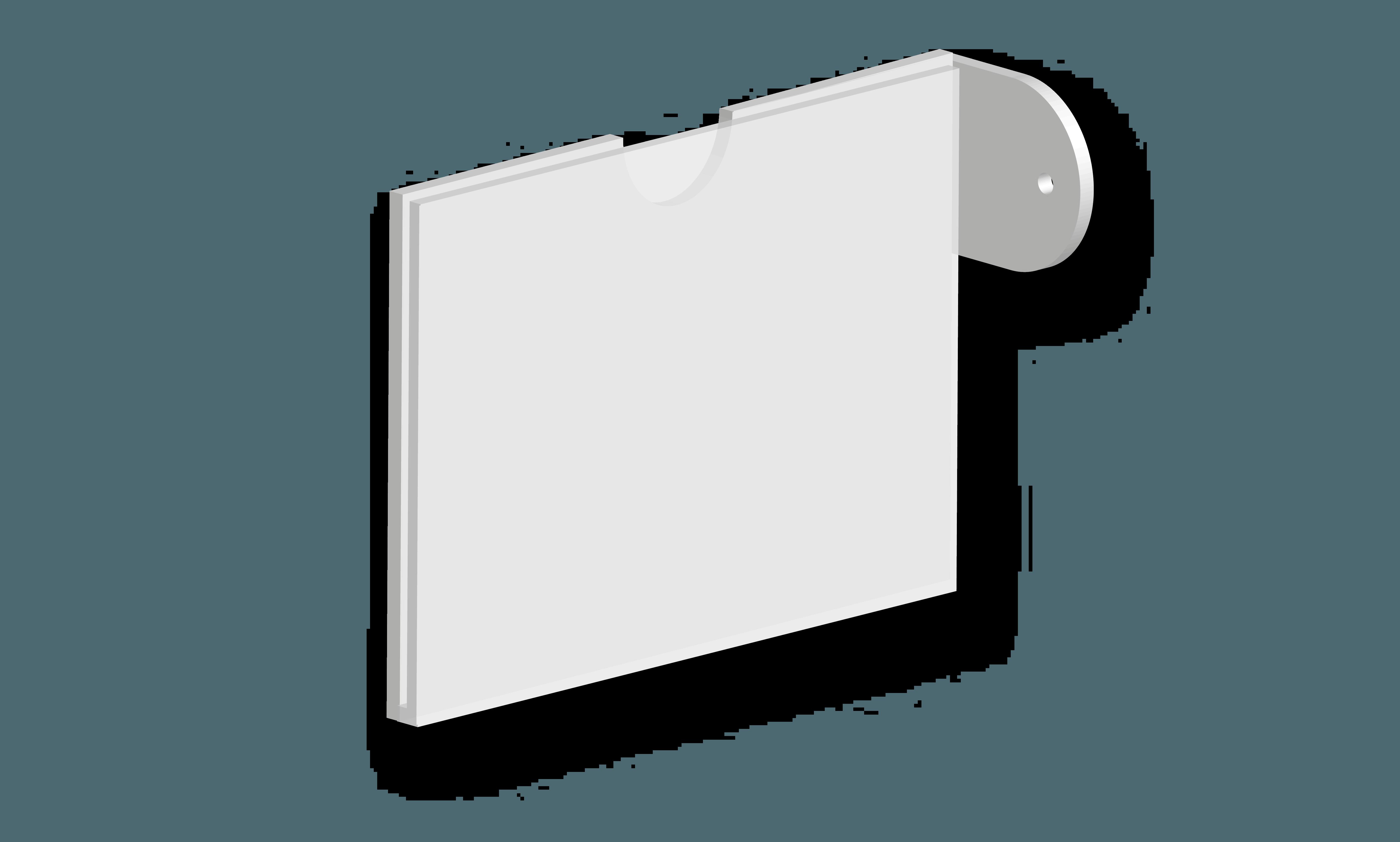 Targa per segnaletica interna B&B systems