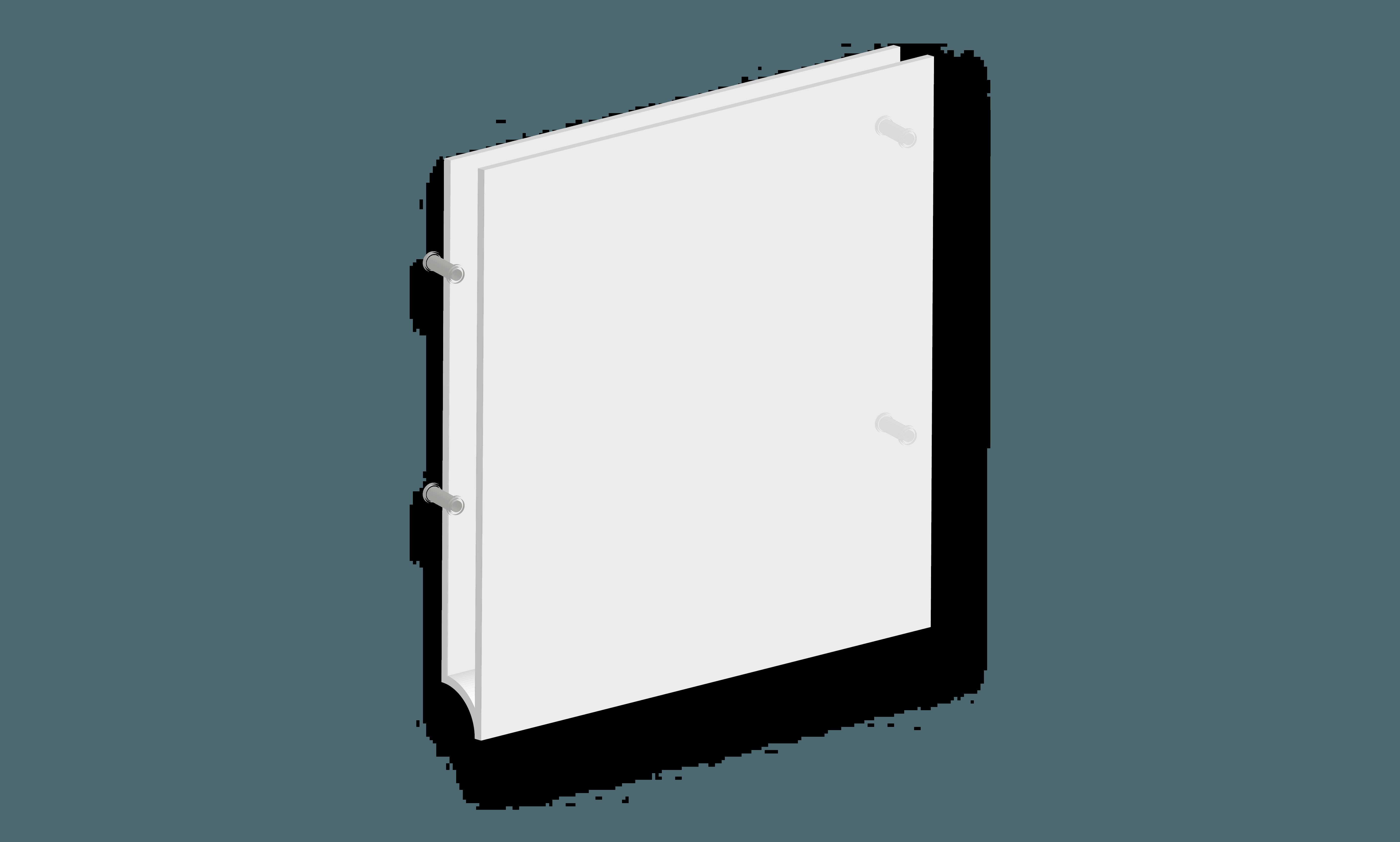 Targa A per segnaletica interna B&B systems