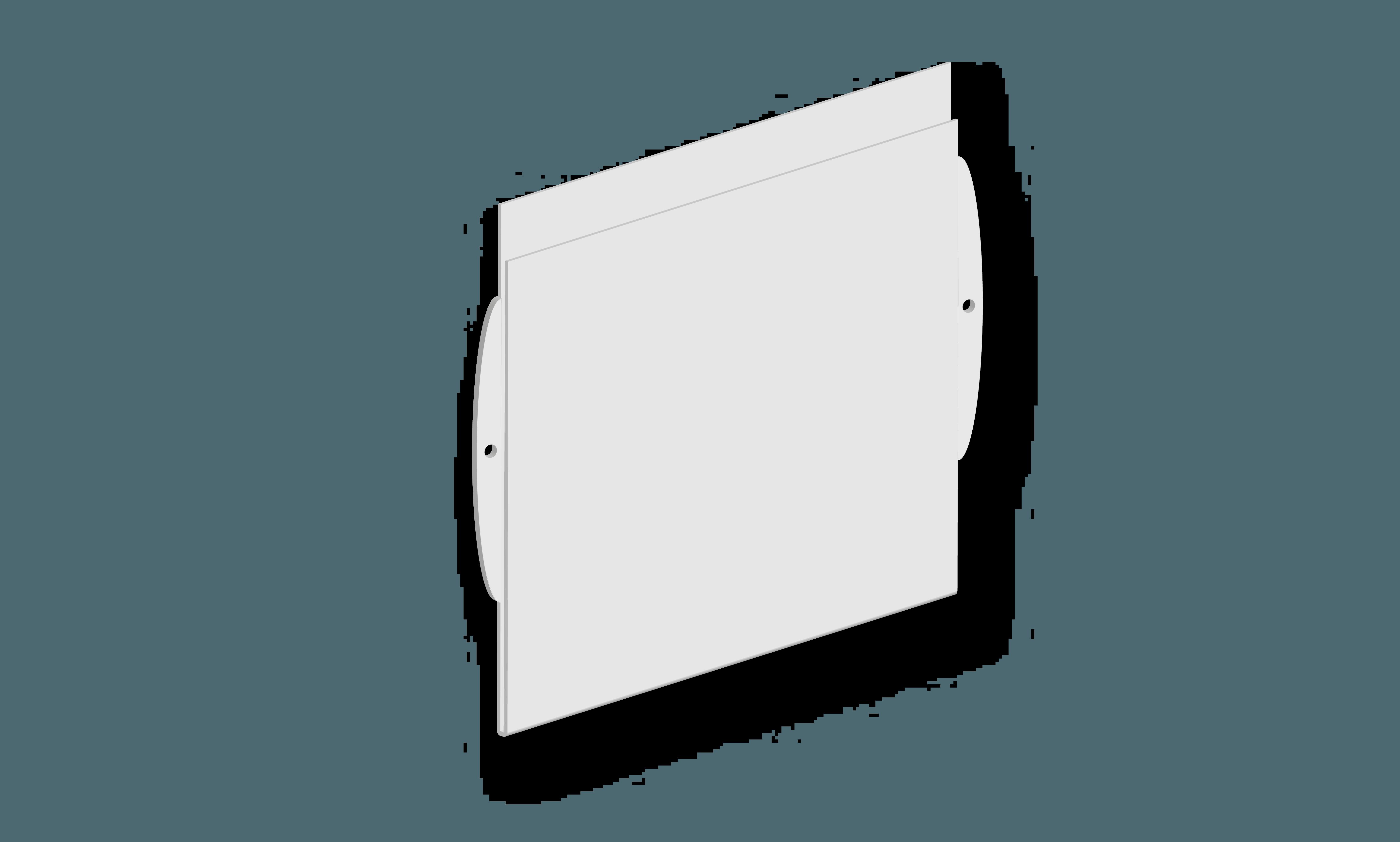 Targa B per segnaletica interna B&B systems