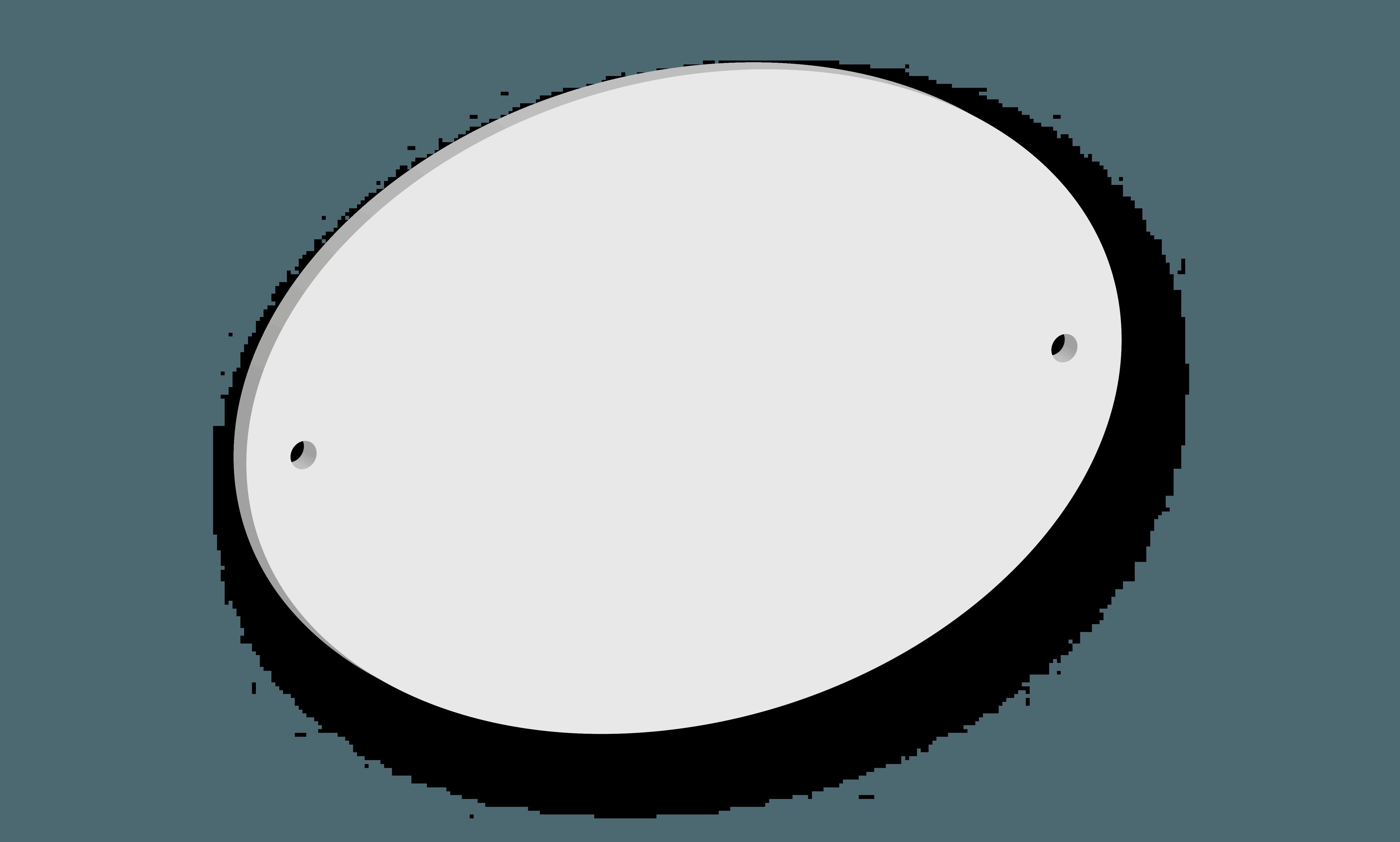 Targa in acrilico Modello B B&B systems
