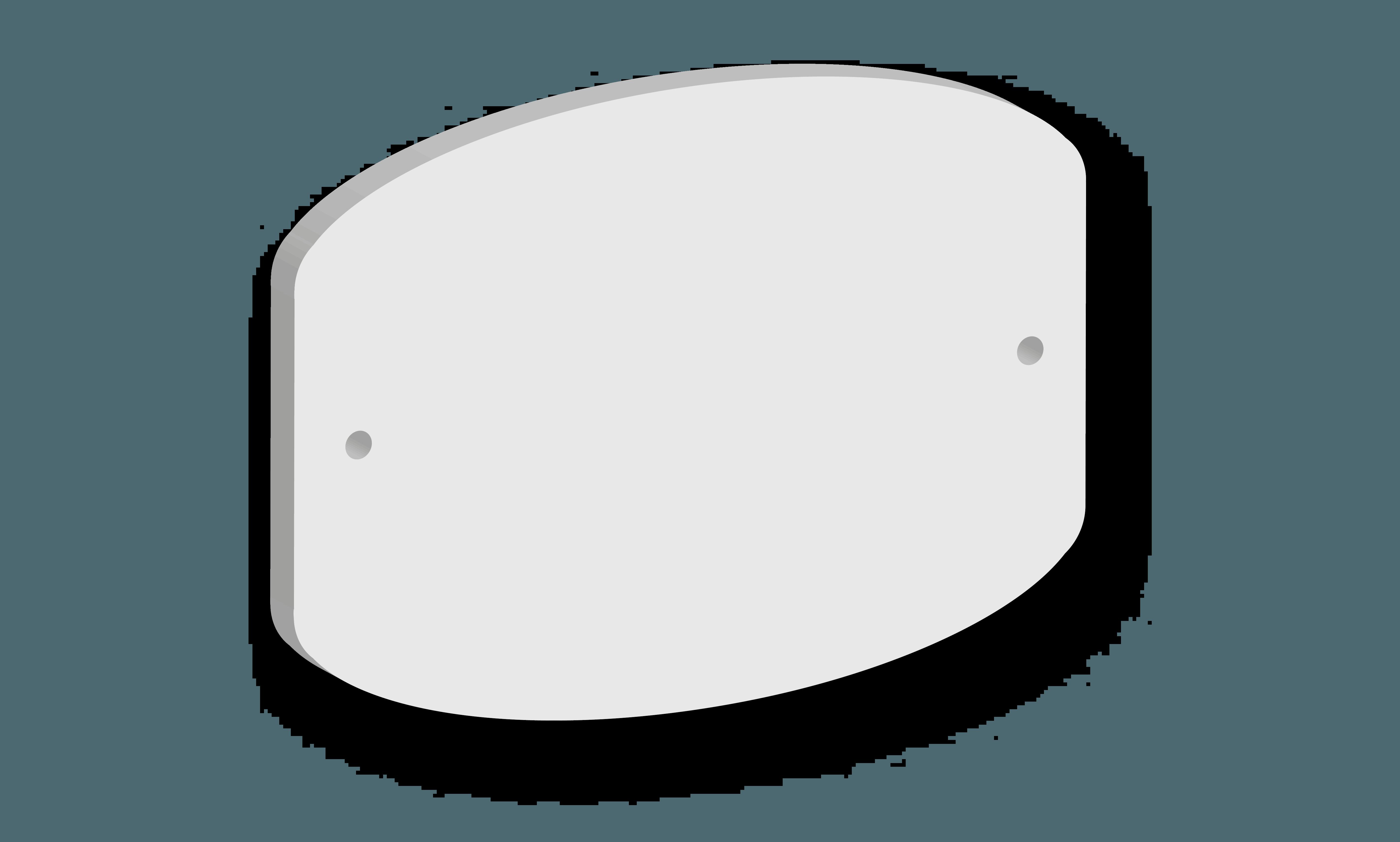 Targa in acrilico Modello C B&B systems