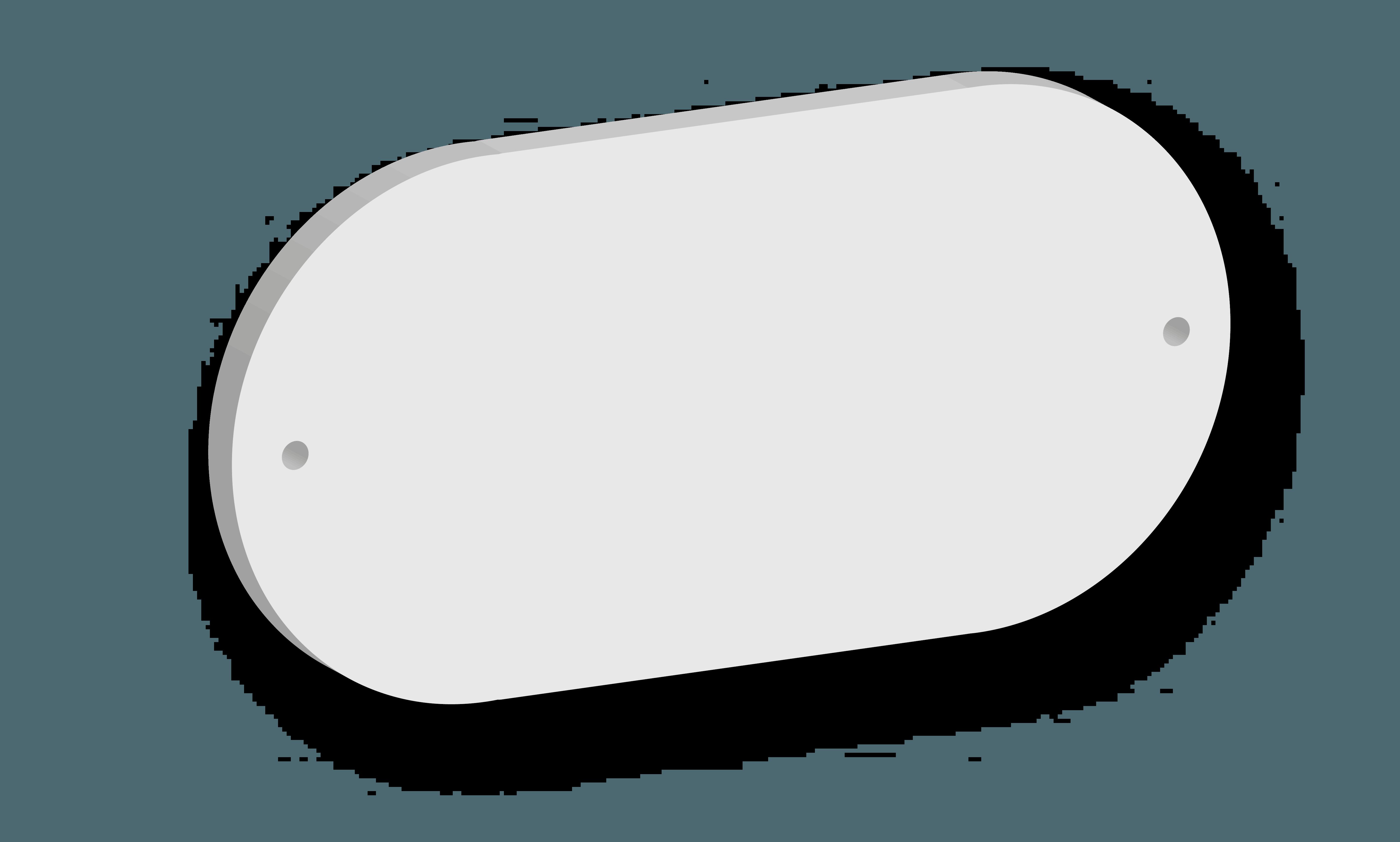 Targa in acrilico Modello D B&B systems